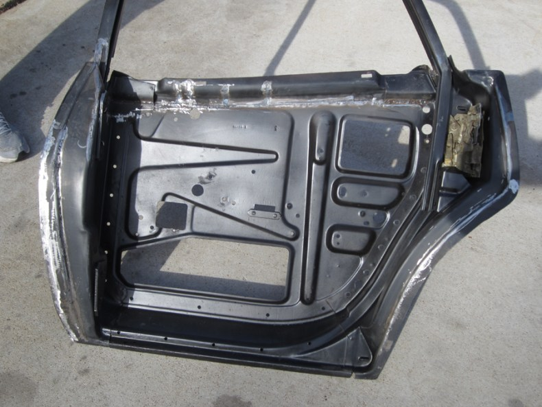Inside view of Rear Door after conversion.