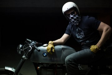 fuel bespoke motorcycle t shirt skull 4h10.com