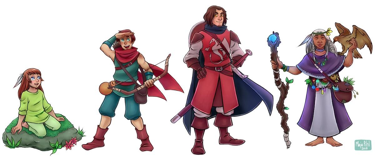 4 Heros