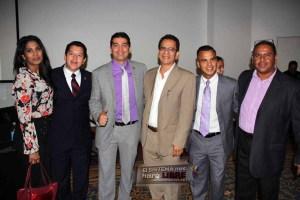 Antonio Nuñez de Panama con Alicia,  Nicolas y Jorge Quintanilla