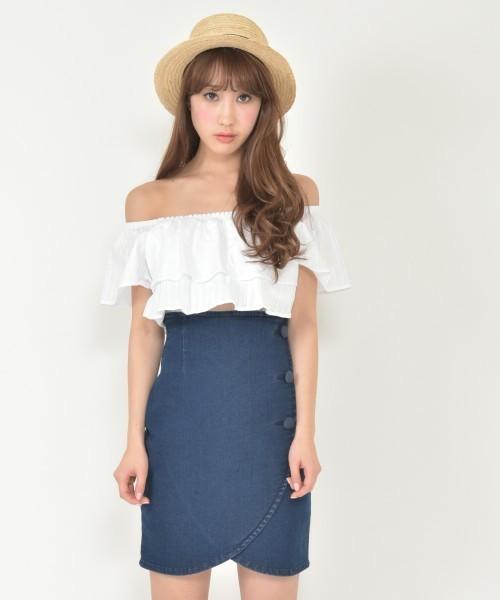 ぷりっとヒップが可愛い♡春に履きたいタイトスカート♪その3