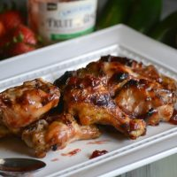 Strawberry Jalapeno Chicken Wings