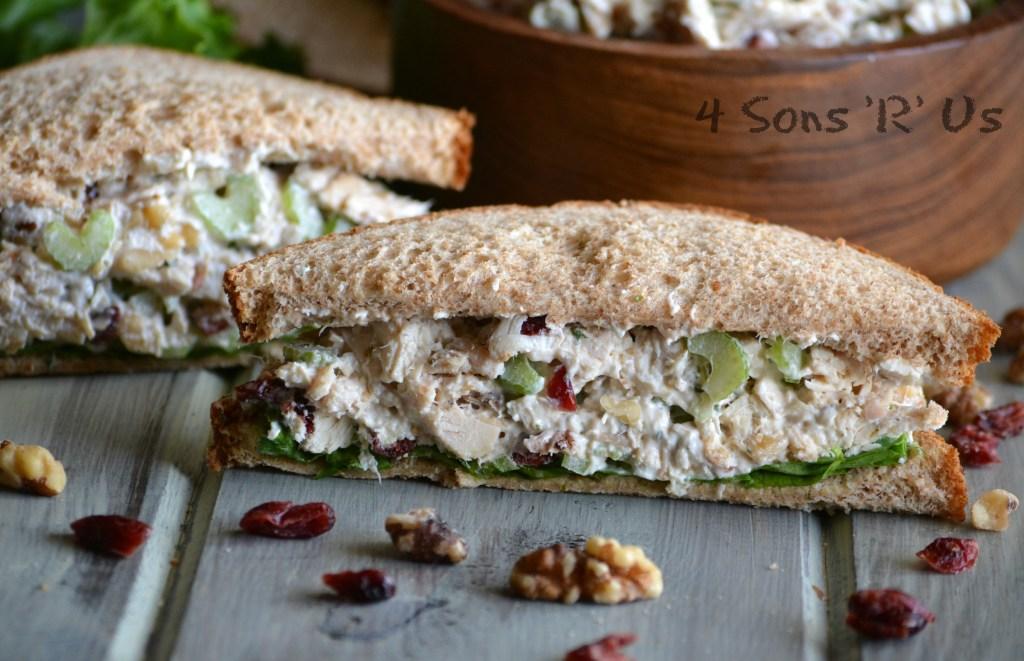 Cranberry Walnut Chicken Salad - 4 Sons 'R' Us