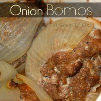 Grilled Onion Bombs