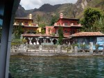 One of many resorts surrounding Lake Atitlan