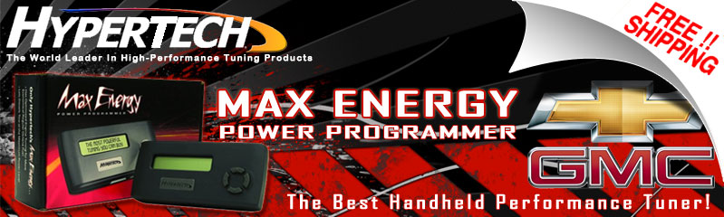 Hypertech Max Energy for Chevy and GMC Gas  Hypertech Tuners for     Hypertech Max Energy for Chevy GMC Gas Trucks and SUVs   The Best Handheld  Performance Tuner
