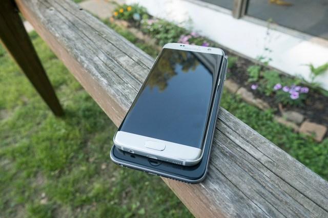 Samsung S7 Edge and iPhone 6S Plus