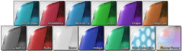 IMac G3 flavors