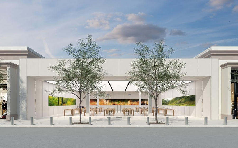 New Memphis Apple Store