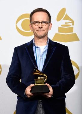 CHJ with Grammy award