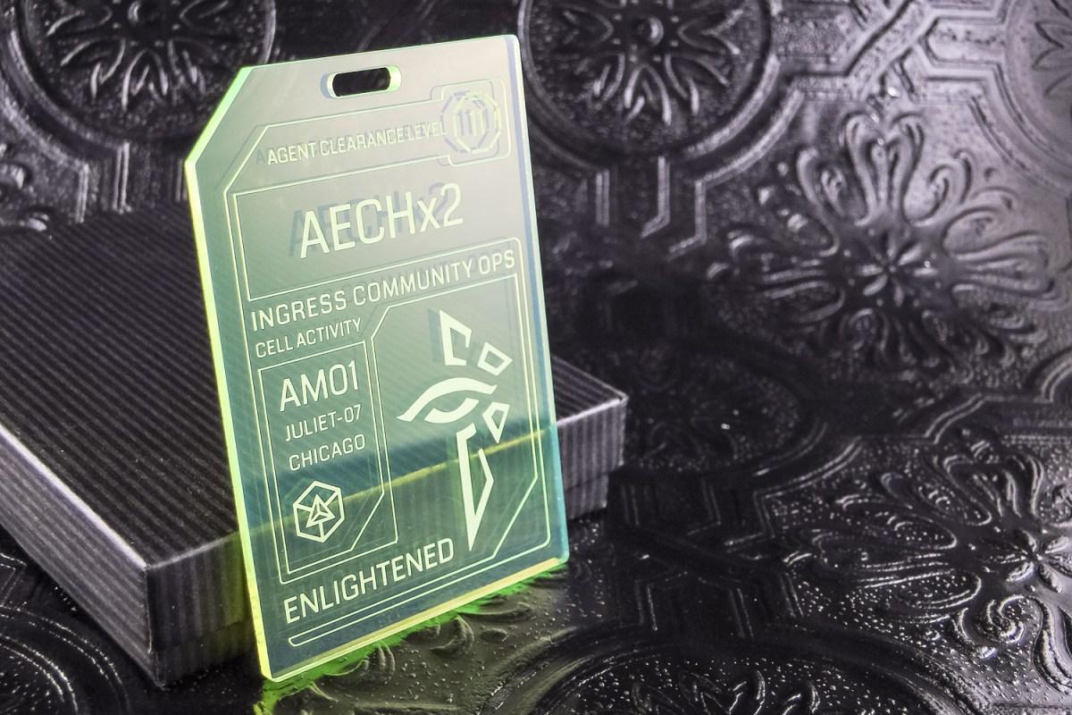 25: Fluorescent Badges