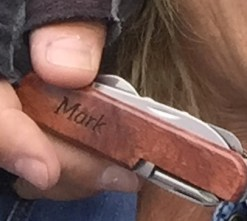 mark knife