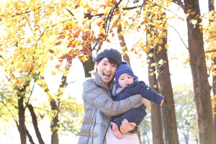 こむの木小金井公園撮影会ママと赤ちゃん