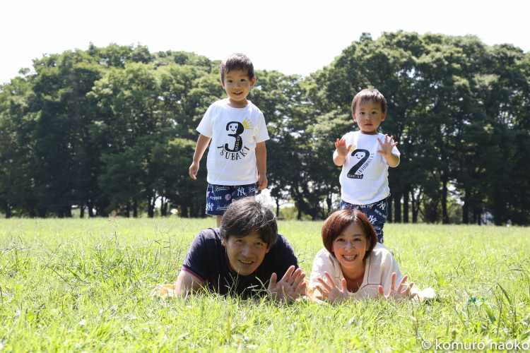 こむの木家族写真