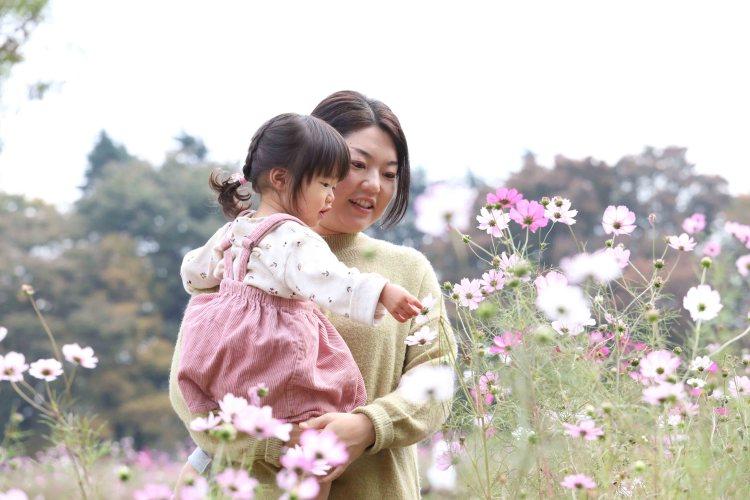 家族写真撮影会小金井公園