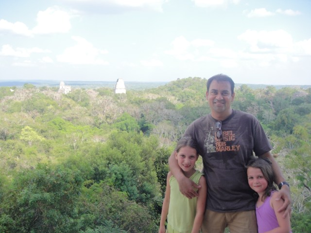 Top of Temple IV, Tikal, Guatemala
