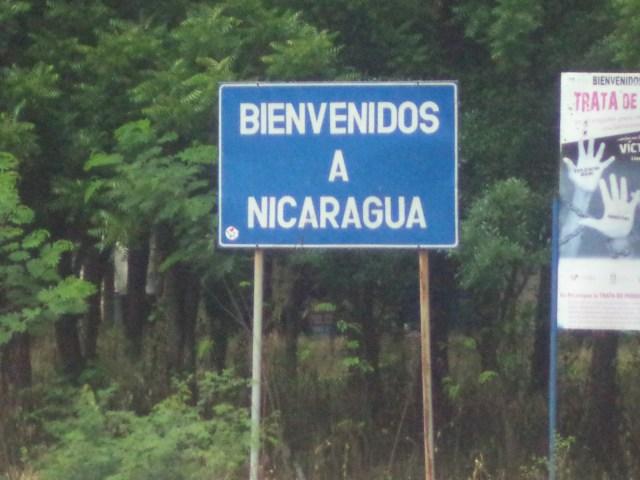 Adios Honduras, Hola Nicuagua!