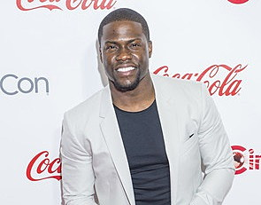 Actor Kevin Hart, winner of Cinemacon's Comedy Star of the Year, attends the 2015 Big Screen Achievement Awards during 2015 Cinemacon on April 23, 2015 in Las Vegas , NV Courtesy: 123RF.com/ Kobby Dagan