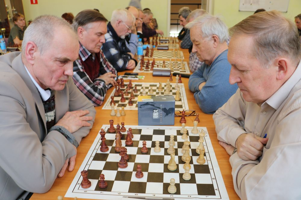 шахматы пенсионеры