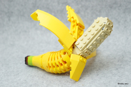 itscolossal:  Japanese Lego Master Builds Delicious-Looking Creations From Blocks