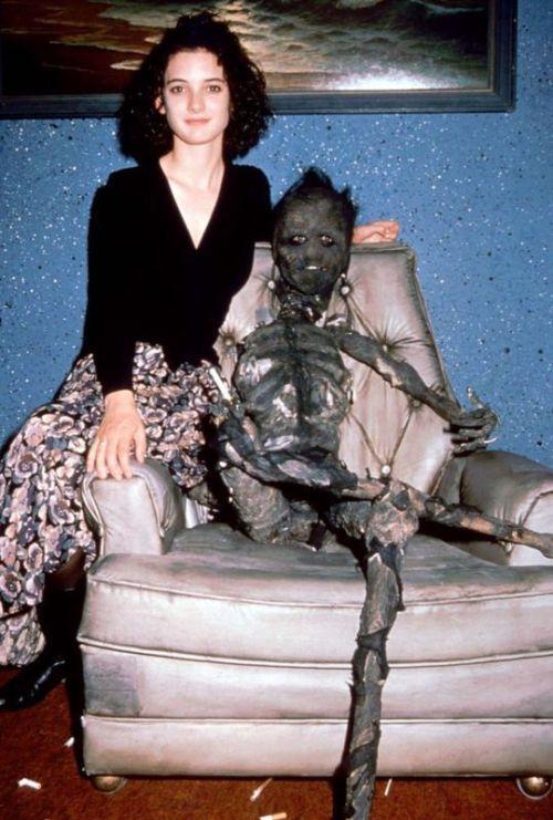 vintagesalt:Beetlejuice (dir. Tim Burton, 1988)