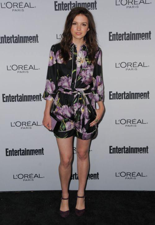 dailyactress: Hannah Murray at Entertainment Weekly 2016