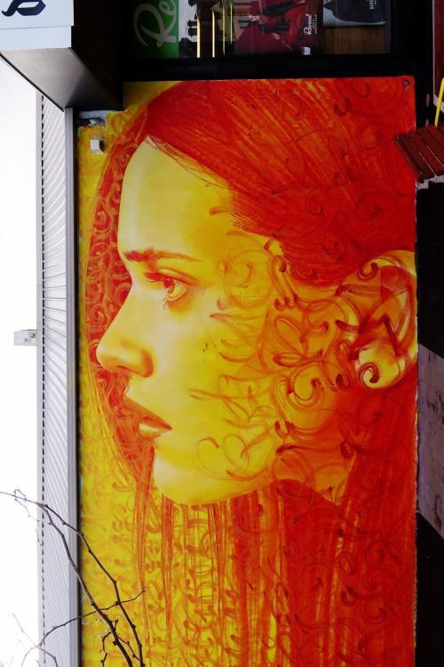 veryprivateart:Collaboration Rone & Mayonaize  Wall in Brunswick, Melbourne, Australia