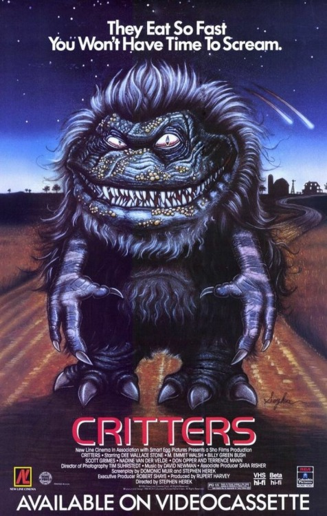 mastersofthe80s:  Critters (1986)