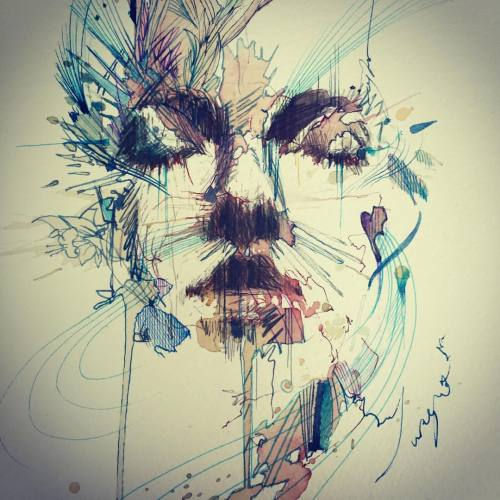 carnegriffiths:#momentary passing clouds (at Lilford Gallery Folkestone)