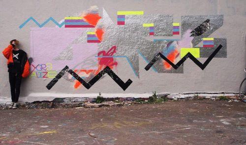 streetartglobal:  Fresh paint from @joexclarke (globalstreetart.com/lonerism) #globalstreetart #walls #artists #paintedcities https://www.instagram.com/p/BF07VVqgEJH/