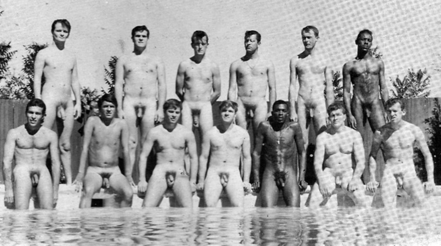 naked mens swim meets