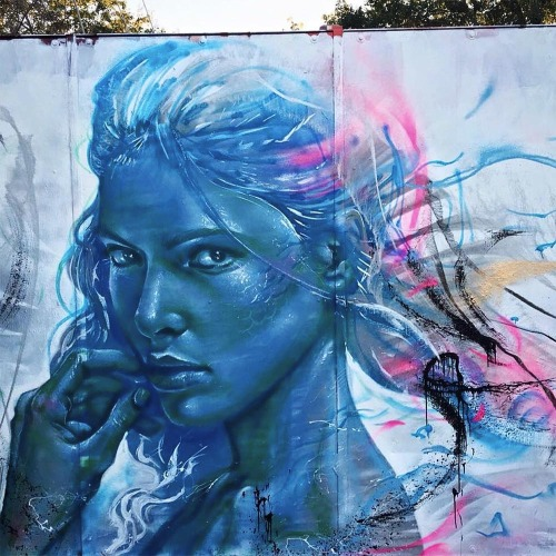 """veryprivateart:Street Art by Valdi Valdi  """"…Right now, artists are aiming to """"impress"""" people, when we should aim to """"inspire"""" them."""" V.V.Born as Thiago Rogério de Castro Furtado in a coastal city Florianópolis in Santa Catarina state, Brazil, he is a young graffiti artist, painter and illustrator known as Valdi Valdi. Full Article and Interview. Hitting 10 years mark painting murals, Valdi-Valdi has grown a lot like a child has grown out of his shoes. When he compared his present-self to his younger-self, he admitted that he had learned only recent years how to manage his creative process, instead of spontaneous impulsive expression. -> Full Article and Interview"""