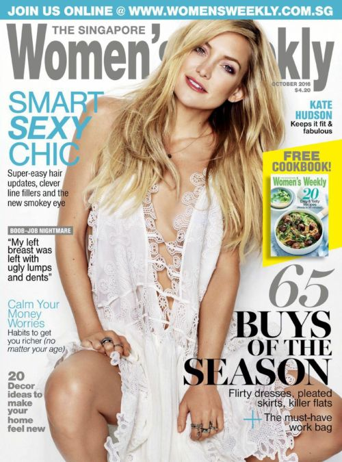 fuckyeahcelebs: Kate Hudson on the cover of The Singapore