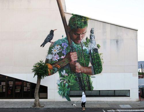 streetartglobal:  Incredible work by @sabotajealmontaje in Spain. [http://globalstreetart.com/sabotaje-al-montaje] #GlobalStreetArt #SabotajeAlMontaje https://www.instagram.com/p/BL3-AupA6MV/