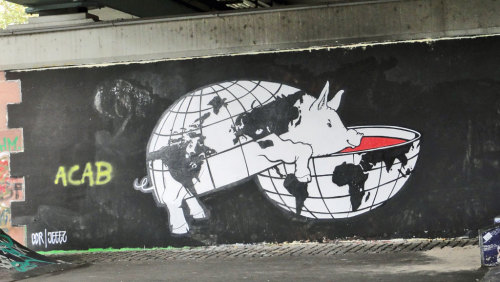 streetart-ffm:  COR, JEEEZ, Frankfurt am Main, Gutleutviertel, 2016