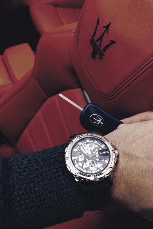livingpursuit:  Vodrich X Maserati