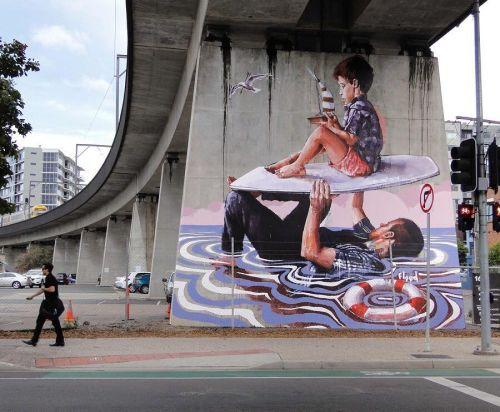 streetartglobal:  Again another breathtaking piece by @fintan_magee in #Autralia (http://globalstreetart.com/fintan-magee) #globalstreetart #fintanmagee #graffiti https://www.instagram.com/p/BH2T2RPDo95/