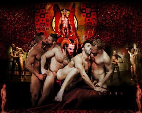 gay satanic sex orgy