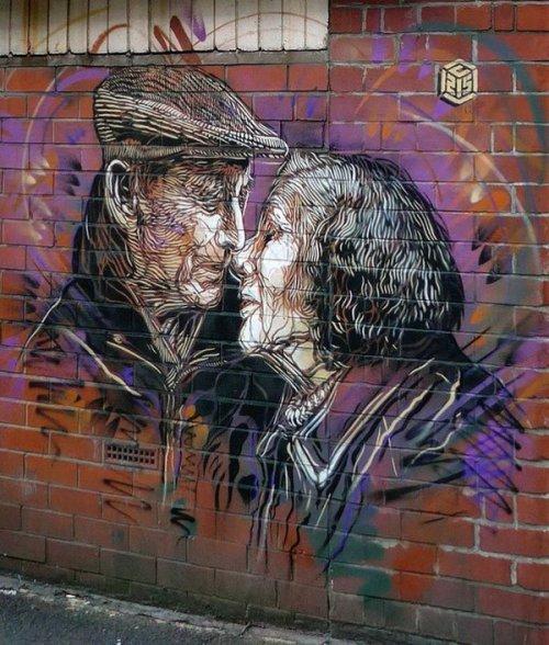 streetartnews:  Christian Guémy - Manchester, UK   streetartnews.tumblr.comwww.arteymuros.com#art #mural #graffiti #streetart