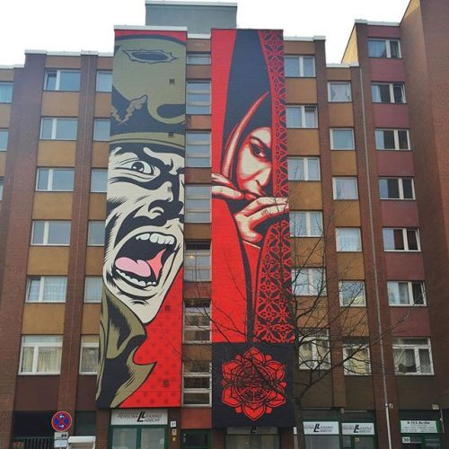 abidingsurfer:  Dface and Obey