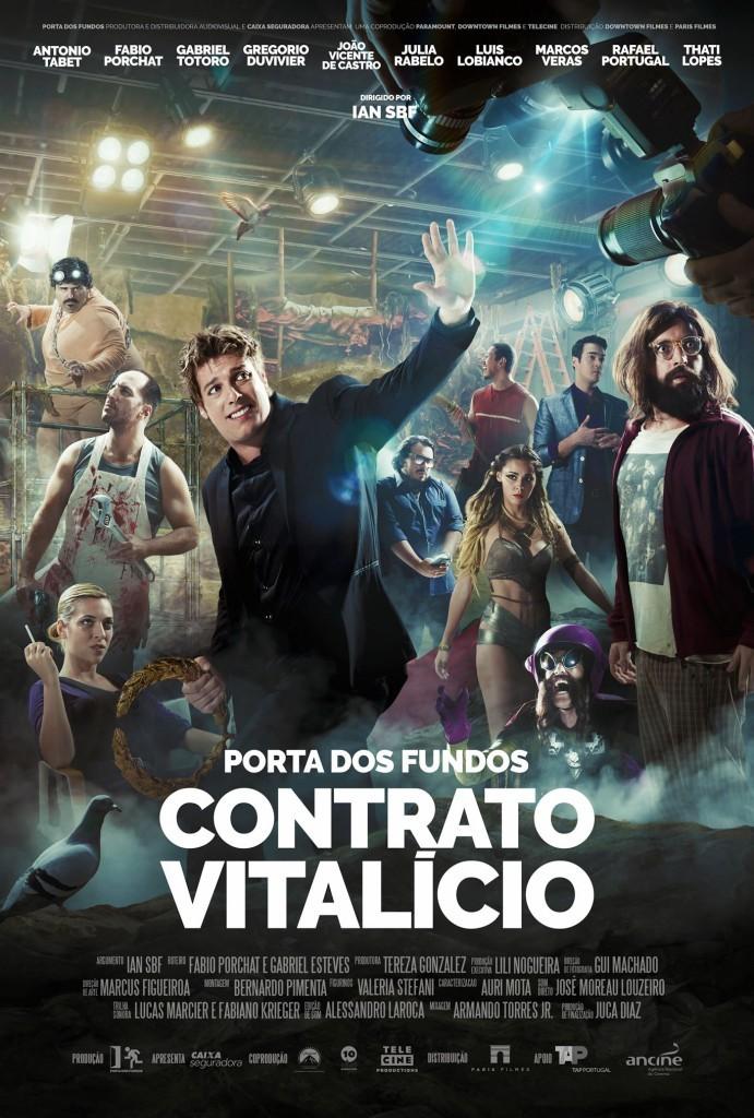 Poster do filme Porta dos Fundos - Contrato Vitalício