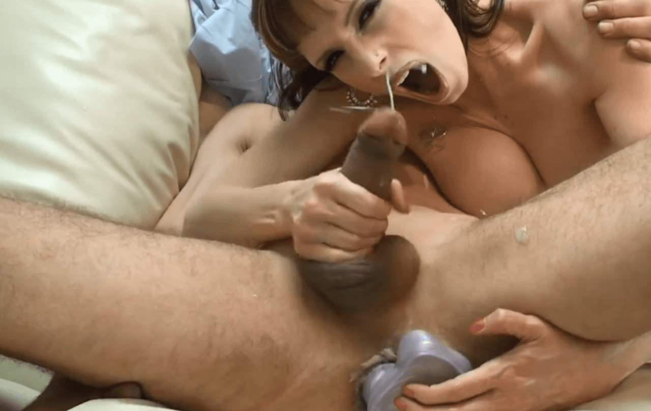 sissy forced orgasm from anal
