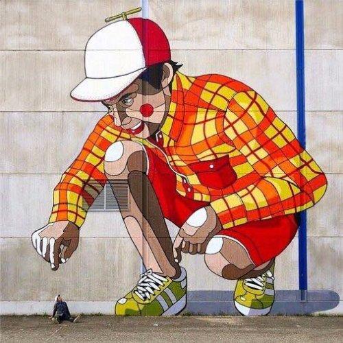 barbarapicci:(via Streetart News [wall 461] - Pallo in Finlanda)