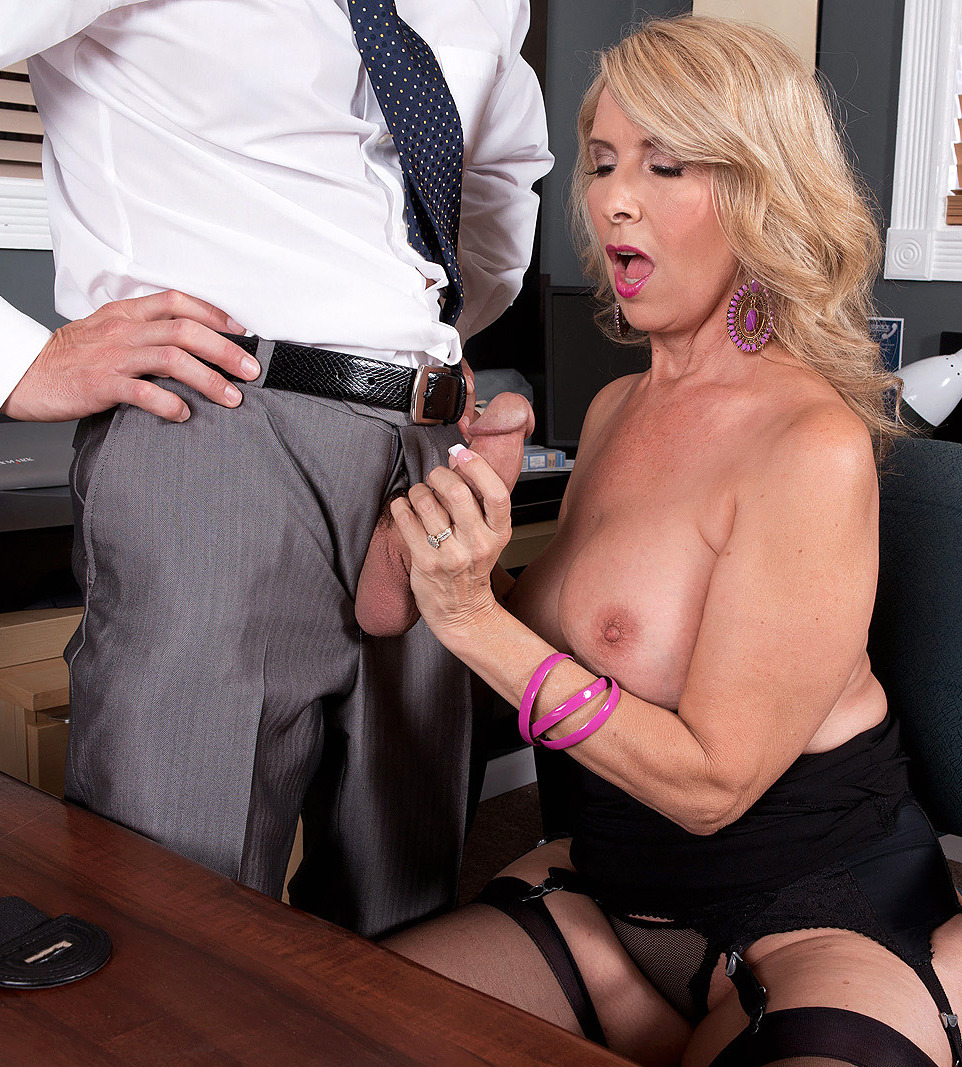 Apologise, but, Mature secretary handjob cum mouth vids that necessary