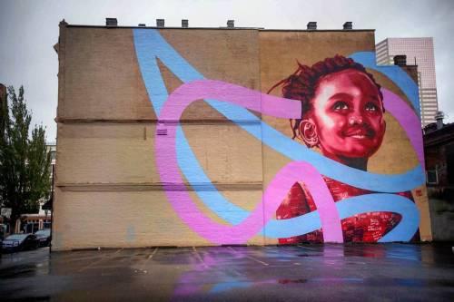 streetartglobal:  New from @kevinledo in Portland, Oregan with support from @aptarts (http://globalstreetart.com/kevin-ledo) #kevinledo #globalstreetart https://www.instagram.com/p/BLOv47gjYR4/