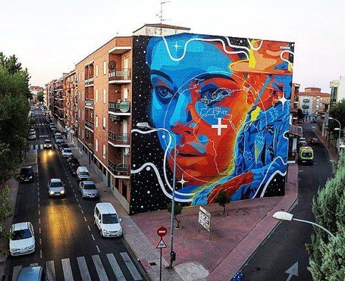 streetartglobal:  New from @dourone in Torrijos, Spain (http://globalstreetart.com/dourone) #globalstreetart #dourone https://www.instagram.com/p/BLjVID_g9di/