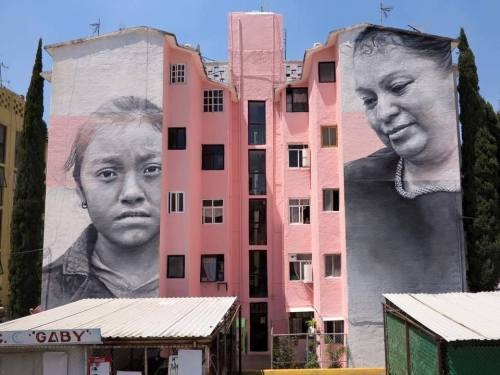 widewalls-artmagazine:   New mural by Guido van Helten made in collaboration with Instituto De La Mujer in Ecatepec, an organisation which focuses on support for womenhttp://www.widewalls.ch/artist/guido-van-helten/