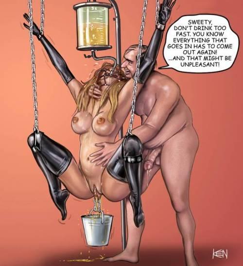 hentai self bondage