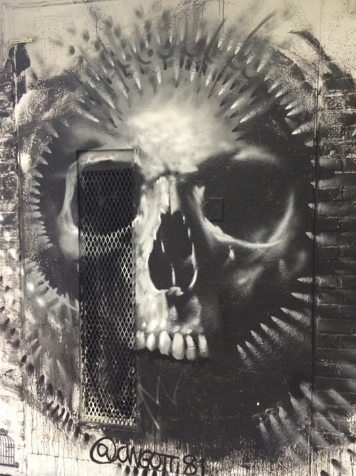 graffvandal:  Found at the 21st Precinct NYC