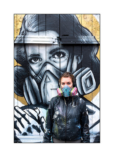 happoart:  Street Art (Zabou), East London, England. http://ift.tt/2eKPyNo